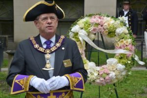 Grand Master speaks at Paul Revere ceremony